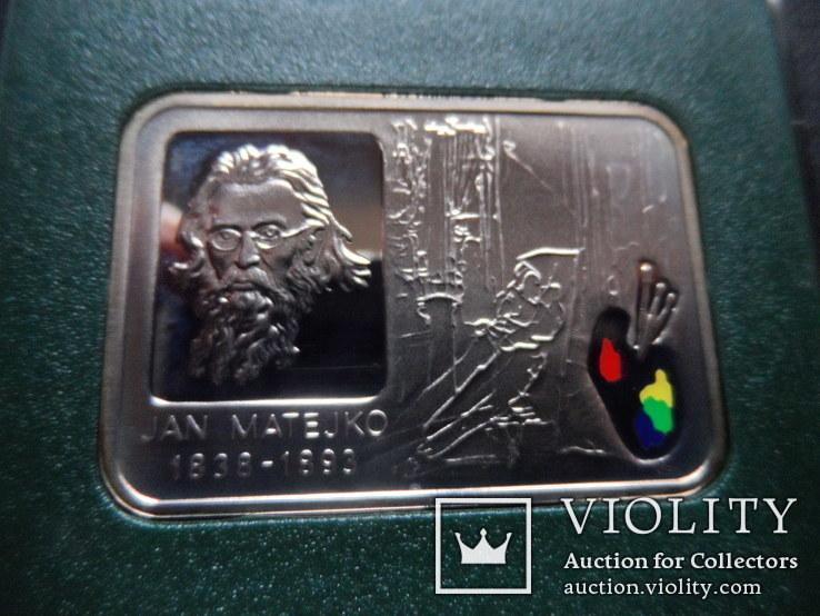 20 злотых 2002  Польша серебро, фото №4