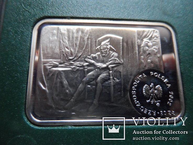 20 злотых 2002  Польша серебро, фото №5