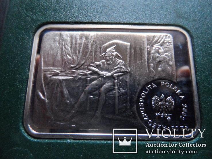 20 злотых 2002  Польша серебро, фото №6