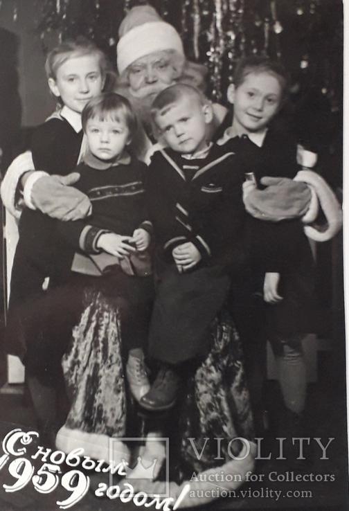 """Фотография """"С Новым 1959 годом"""" (9*13), фото №2"""