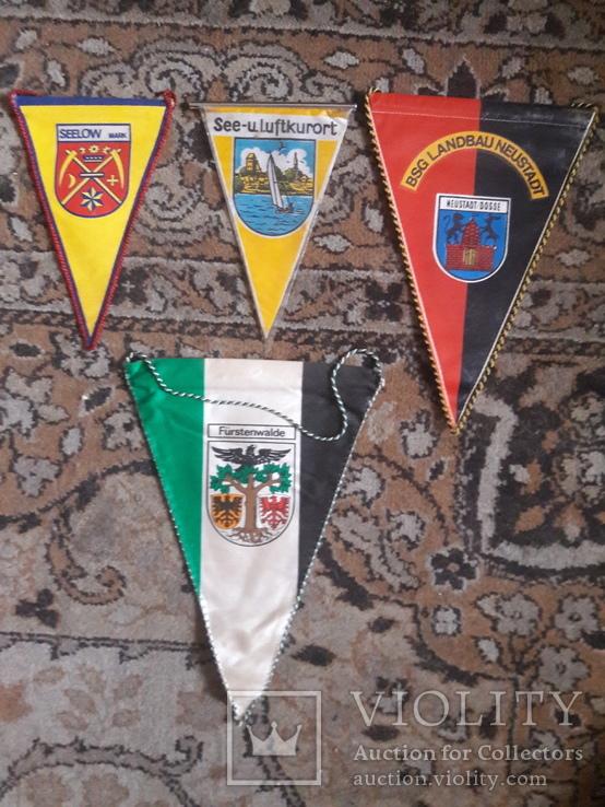 Вымпела Городов ГДР, фото №2
