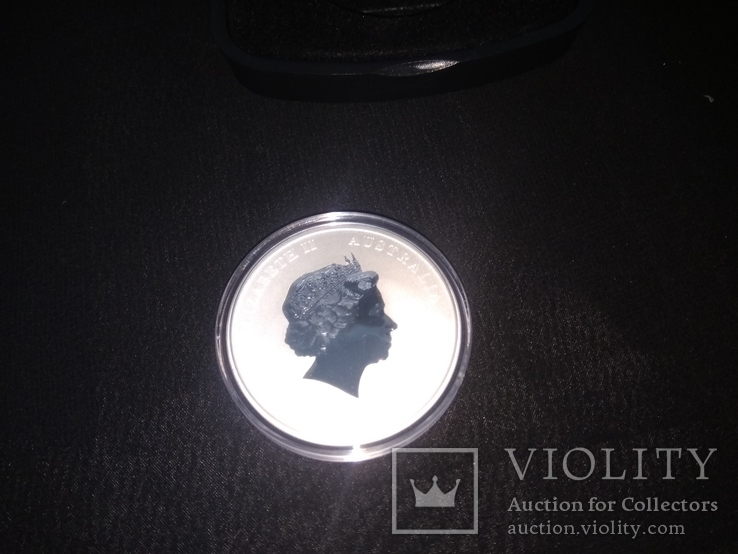 Медаль серебро 999, фото №3