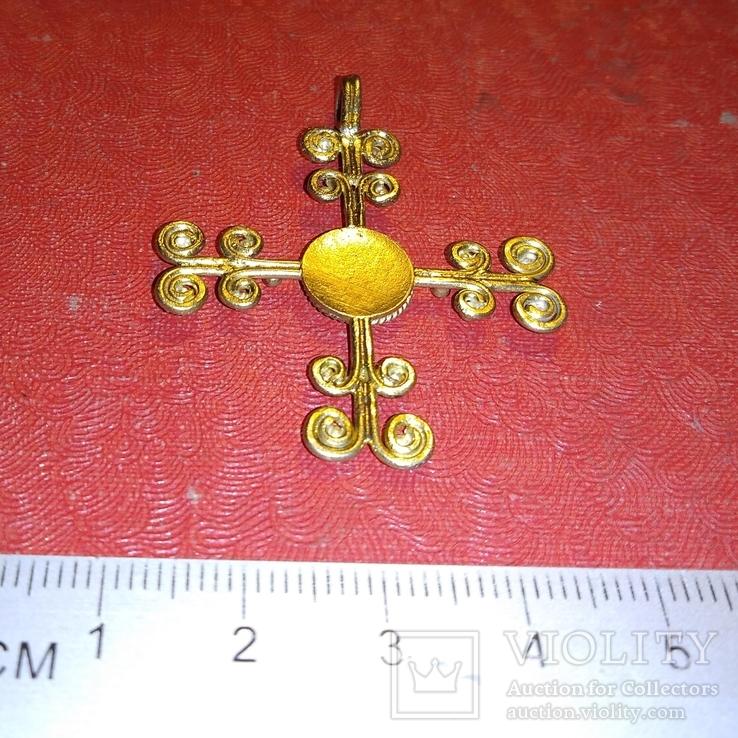 Реплика- копия Крест Византия, фото №8
