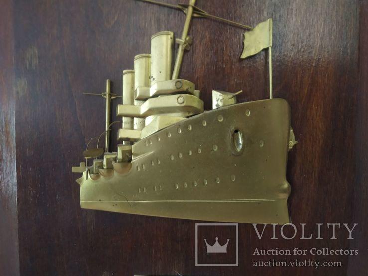 Настенное украшение крейсер Аврора 21,5х28, фото №10