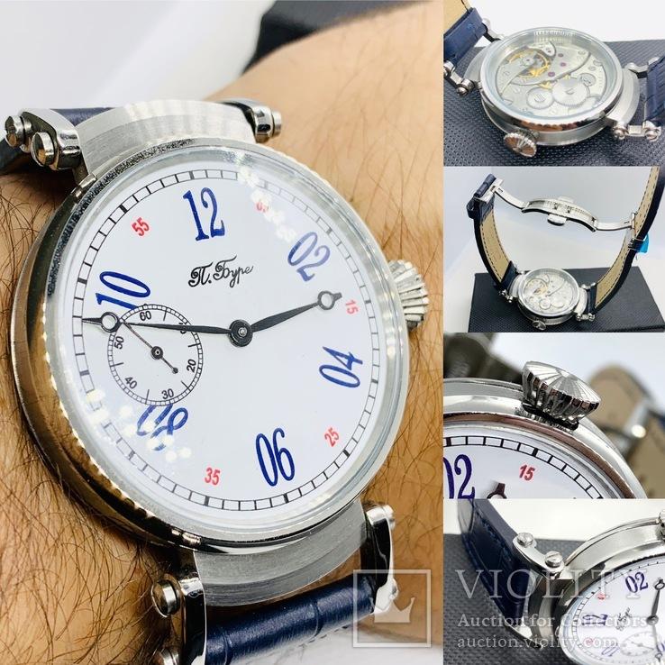 Часы Павел Буре (марьяж часов Молния 3602) нерж., фото №2