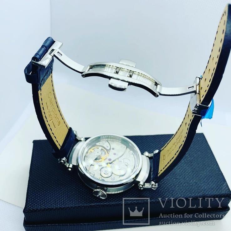 Часы Павел Буре (марьяж часов Молния 3602) нерж., фото №11