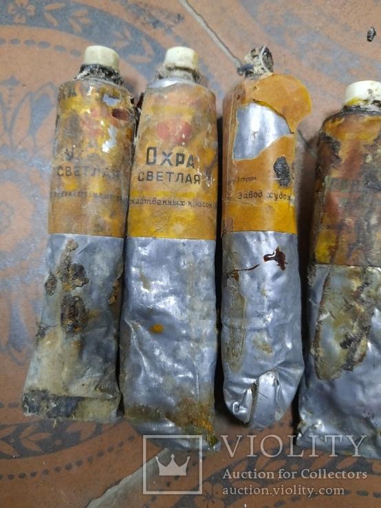 Краски масляные СССР, фото №4