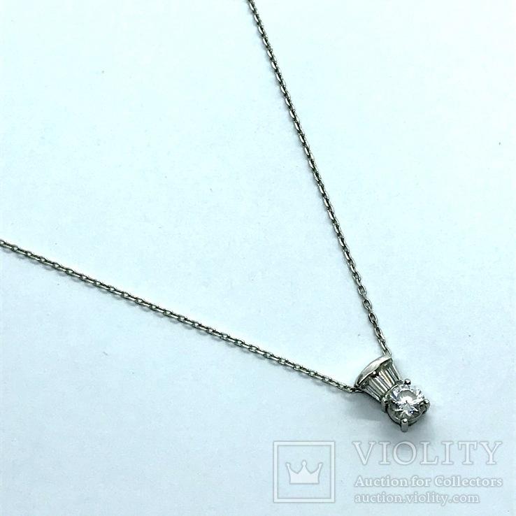 Подвес серебро на цепочке, фото №3