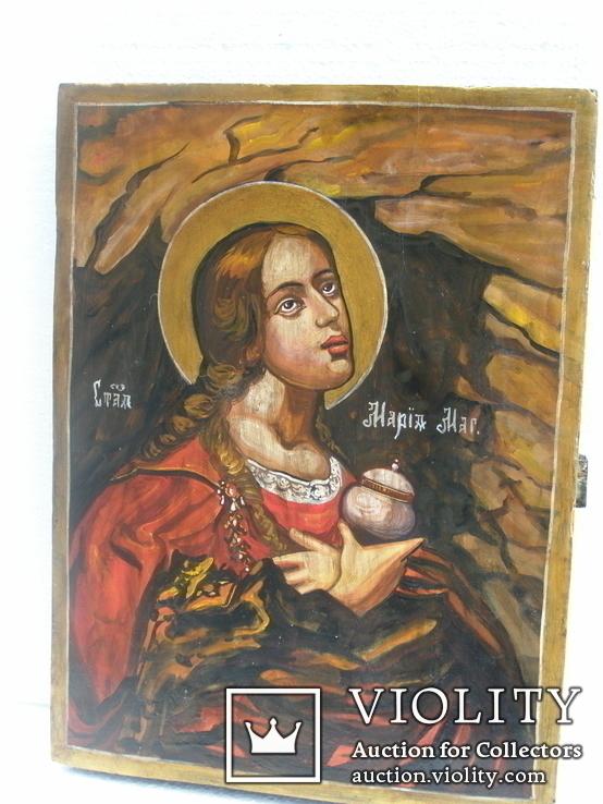 Икона Мария Магдалена 340мм.Х 260мм, фото №2