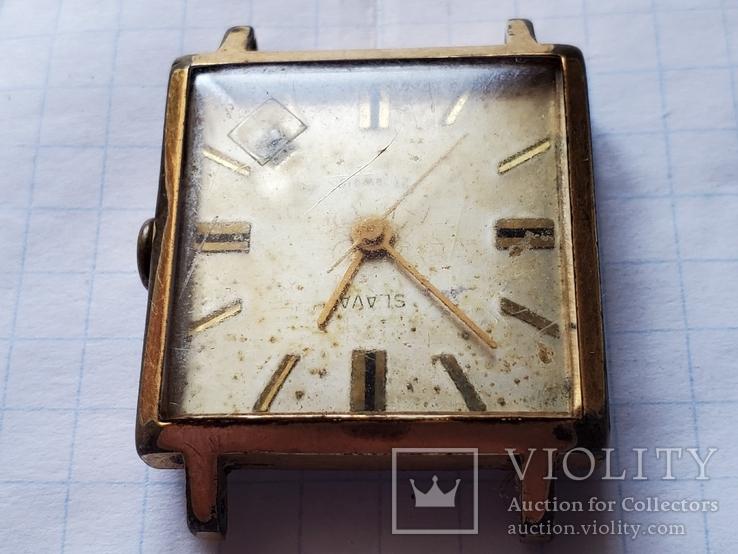 """Часы""""SLAVA"""",21 jewels,Au20., фото №5"""