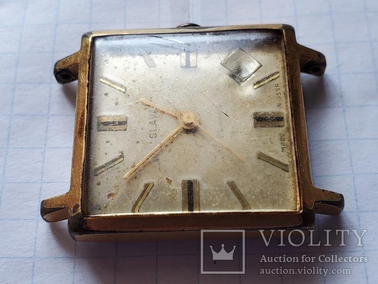 """Часы""""SLAVA"""",21 jewels,Au20., фото №6"""