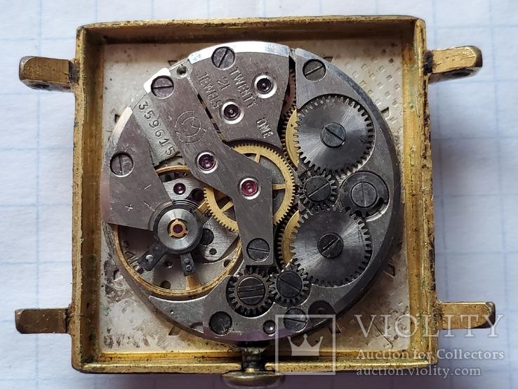 """Часы""""SLAVA"""",21 jewels,Au20., фото №13"""