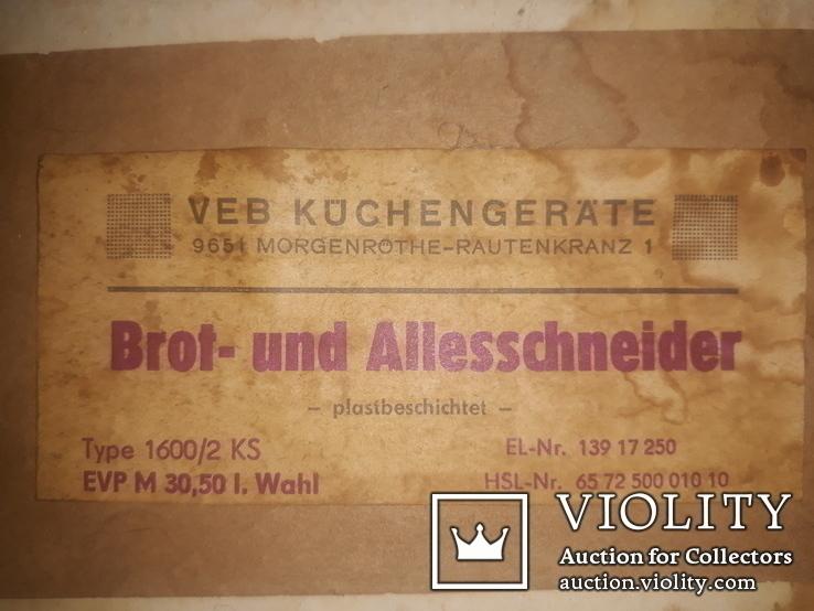 Хліборізка 80-х (ГДР), фото №10