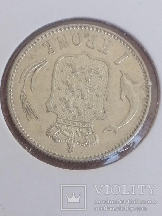1 крона 1915 Дания, фото №3