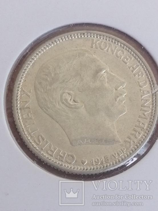 1 крона 1915 Дания, фото №2