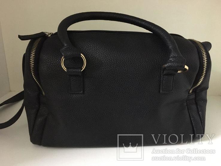 Женская черная сумка, фото №4