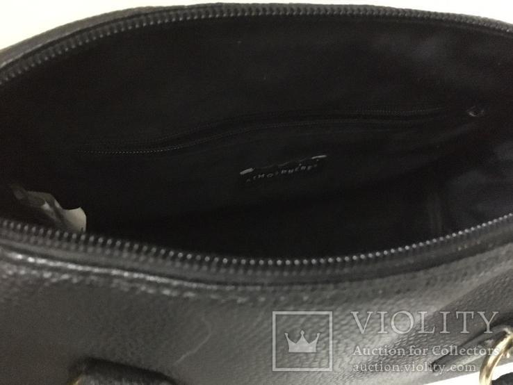 Женская черная сумка, фото №5