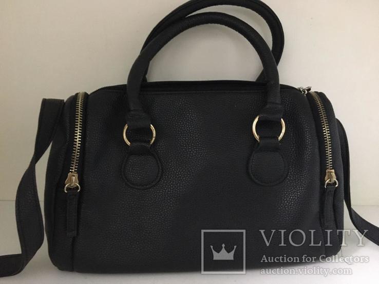 Женская черная сумка, фото №2