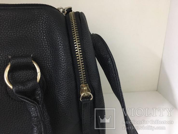 Женская черная сумка, фото №6