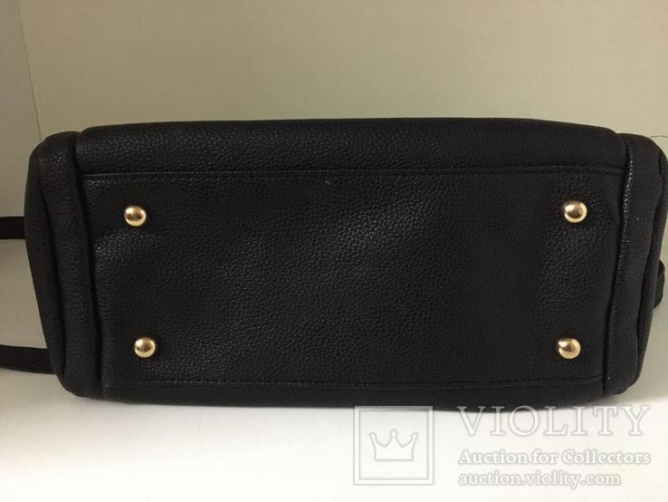 Женская черная сумка, фото №7