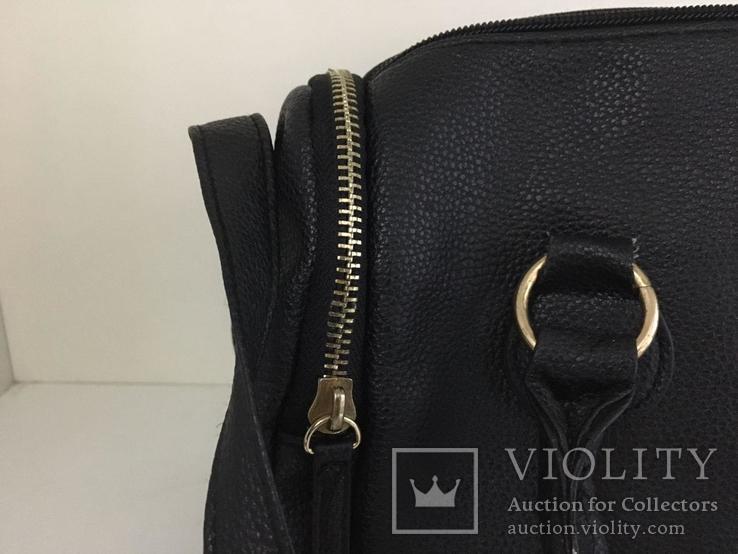 Женская черная сумка, фото №8