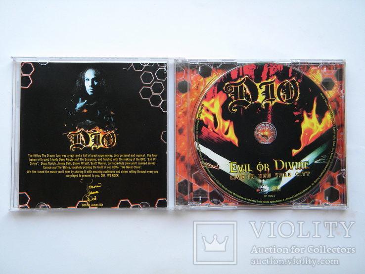 CD. DIO - Evil Or Divine., фото №4