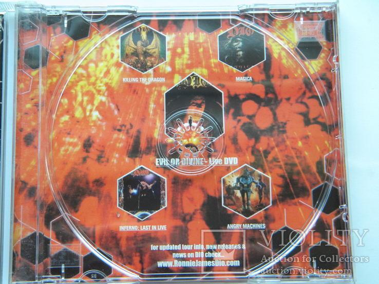 CD. DIO - Evil Or Divine., фото №6