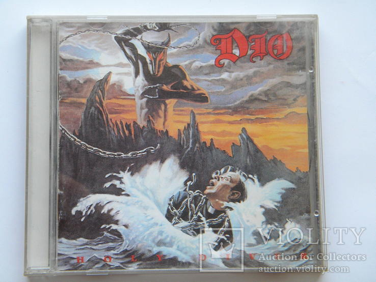 CD. DIO - Holy Diver. Made in U.S.A., фото №2