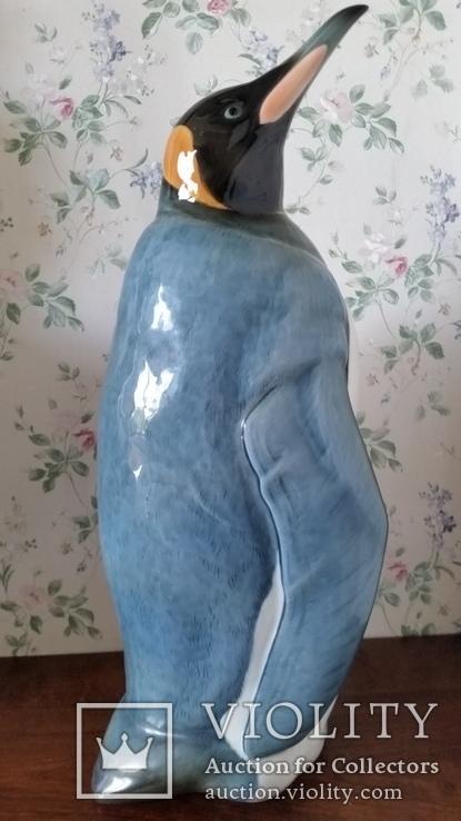 Статуетка Пінгвін, Gunther Granget, Hutschenreuther, H45,5х21,5х19 см, фото №8