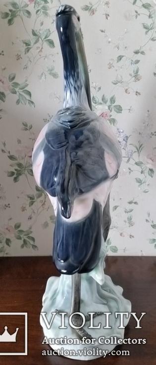Статуетка Чапля, Karl Ens,  Н40,5х31х12 см, фото №3