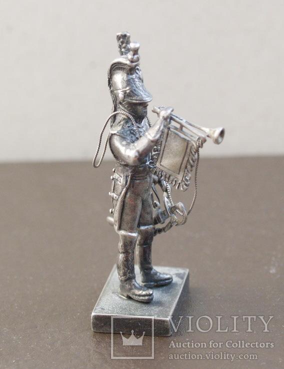 Срібна фігурка, 800пр. Італія., фото №9