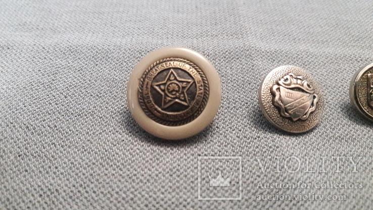 Оклахома и 2 гербовые пуговицы., фото №3