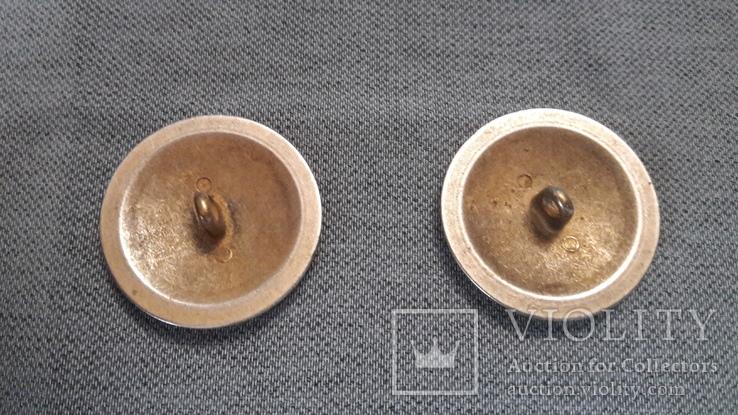 Две большие гербовые пуговицы, фото №5