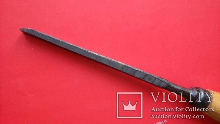 Долото советское 12 мм новое сталь ГОСТ, фото №6