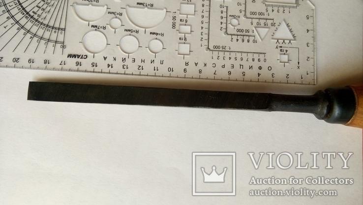 Долото советское 12 мм новое сталь ГОСТ, фото №10