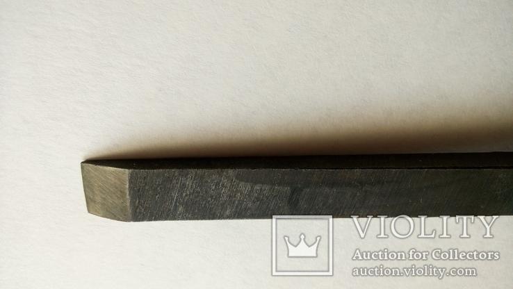 Долото советское 12 мм новое сталь ГОСТ, фото №12