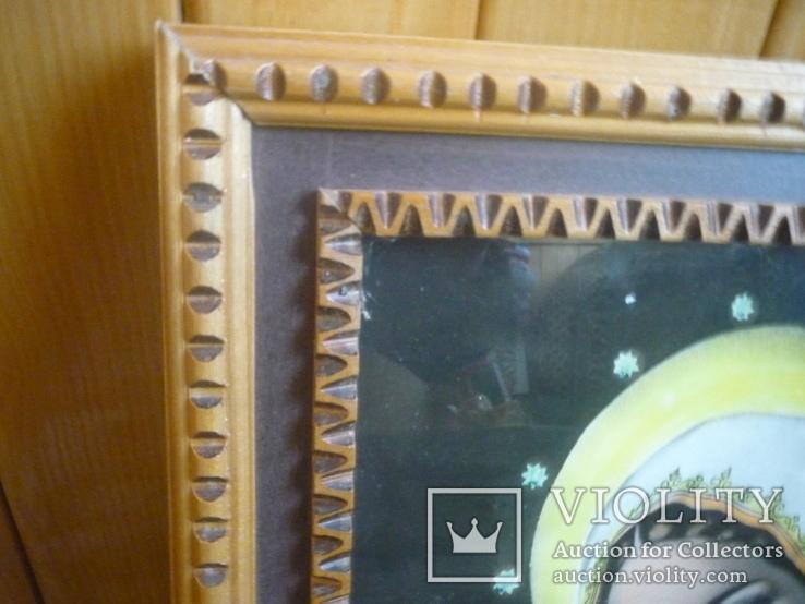 Старая картина икона, фото №6