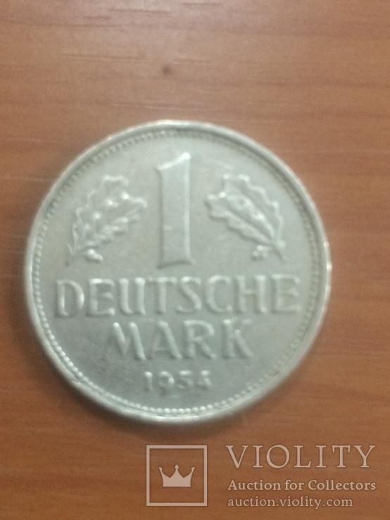 1-марка  1954 j, фото №2
