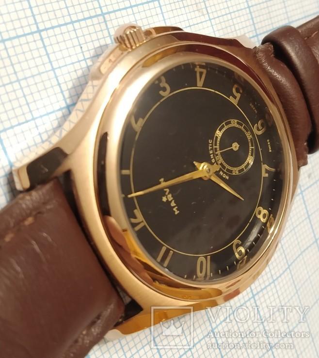 Швейцарские часы Marvin механизм 565, фото №3