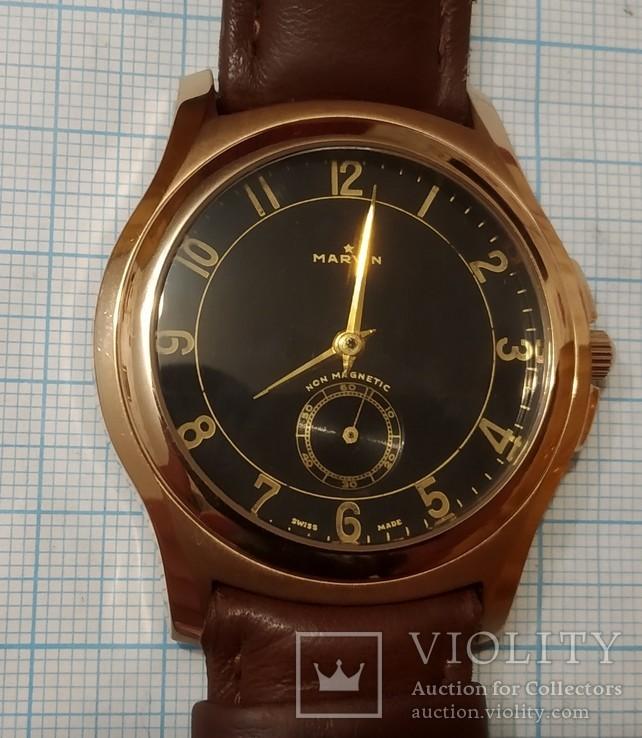 Швейцарские часы Marvin механизм 565, фото №6