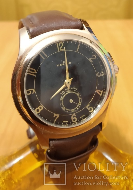 Швейцарские часы Marvin механизм 565, фото №2