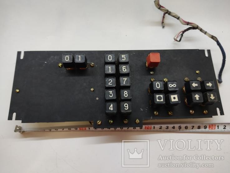 Клавиатура с ПТУ 56 времён СССР на разборку или запчасти, фото №5