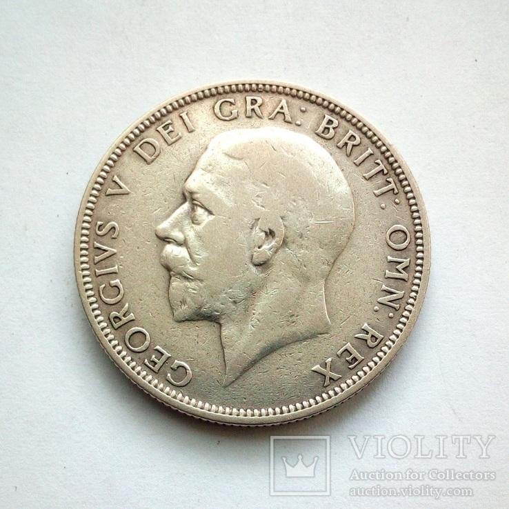 Великобритания 1 флорин 1936 г., фото №4