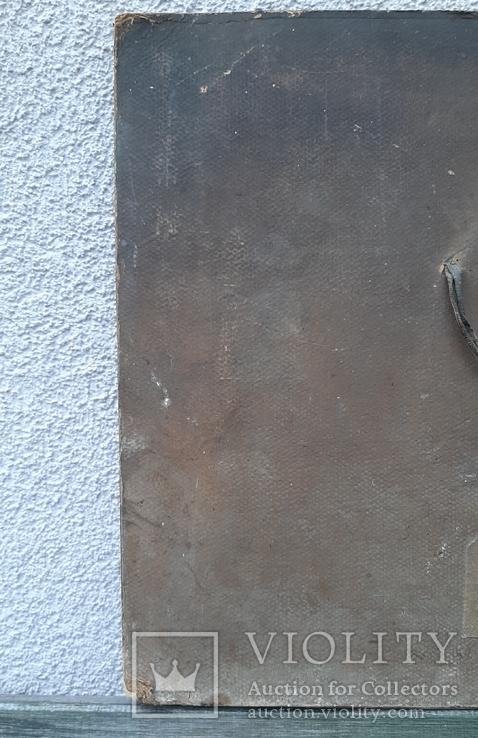 """""""Охотники на привале""""  В.Г.Перов,репродукция 1979 год.Минск, фото №9"""
