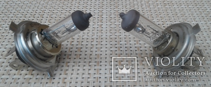 Лампа Philips ближний/дальний свет 12v 60/55w 2 шт, фото №2