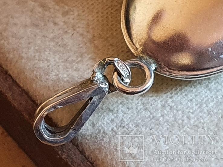 Кулон для фото. Серебро 925 проба., фото №4