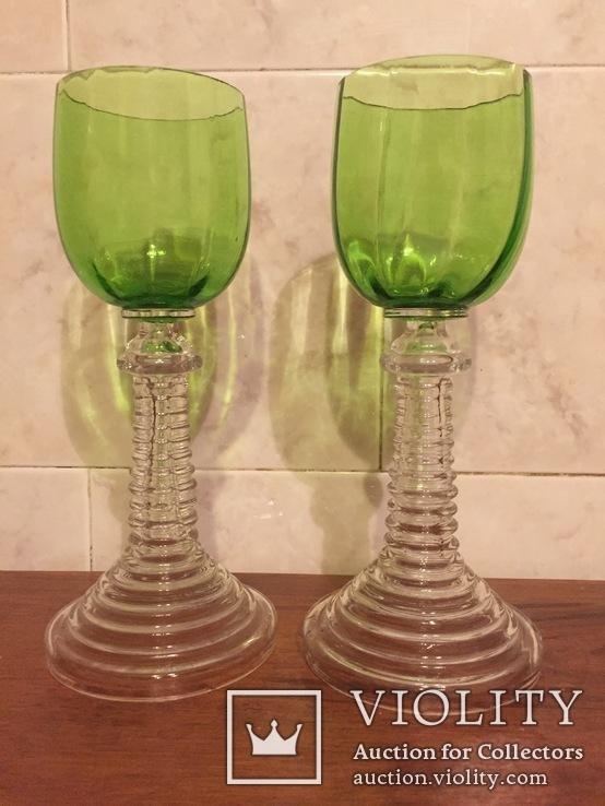 Два старинных бокала, фото №2
