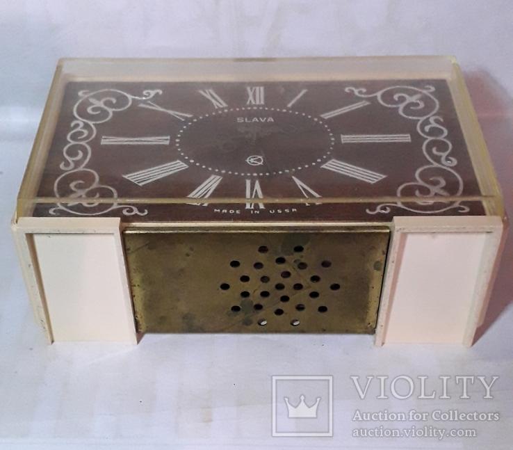 Часы будильник Слава СССР, фото №4