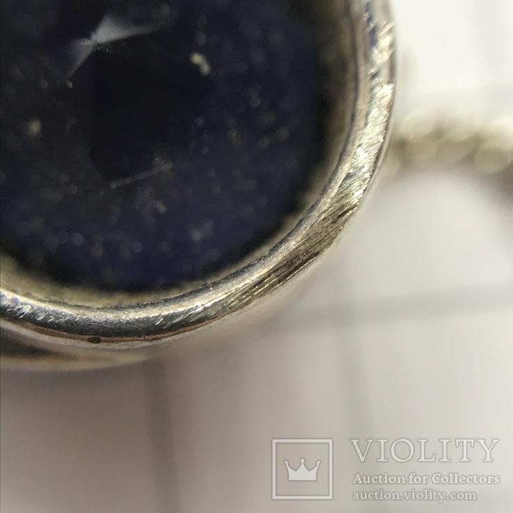 Подвес серебро на цепочке, фото №7