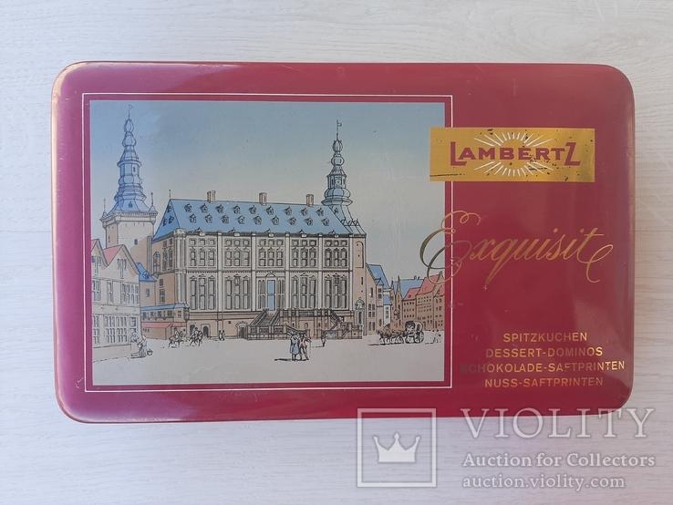 Немецкая подарочная коробка для десертов (70 -80 лет), фото №2